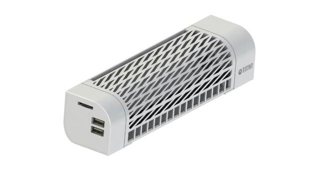 Mobilny wentylator na USB