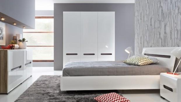 Nowe, modułowe rozwiązania do sypialni od Black Red White