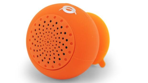Wodoodporny głośnik z przyssawką