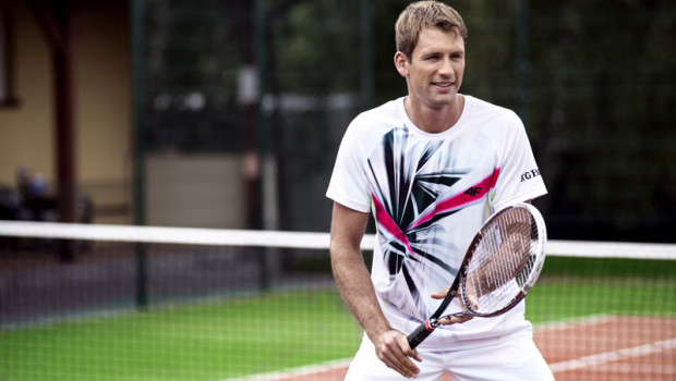 Kolekcja tenisowa marki 4F i Łukasza Kubota