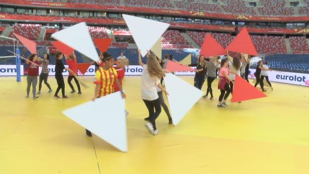Egurrola trenuje tancerzy na narodowym