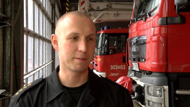 Strażacy też świętują śmigus-dyngus