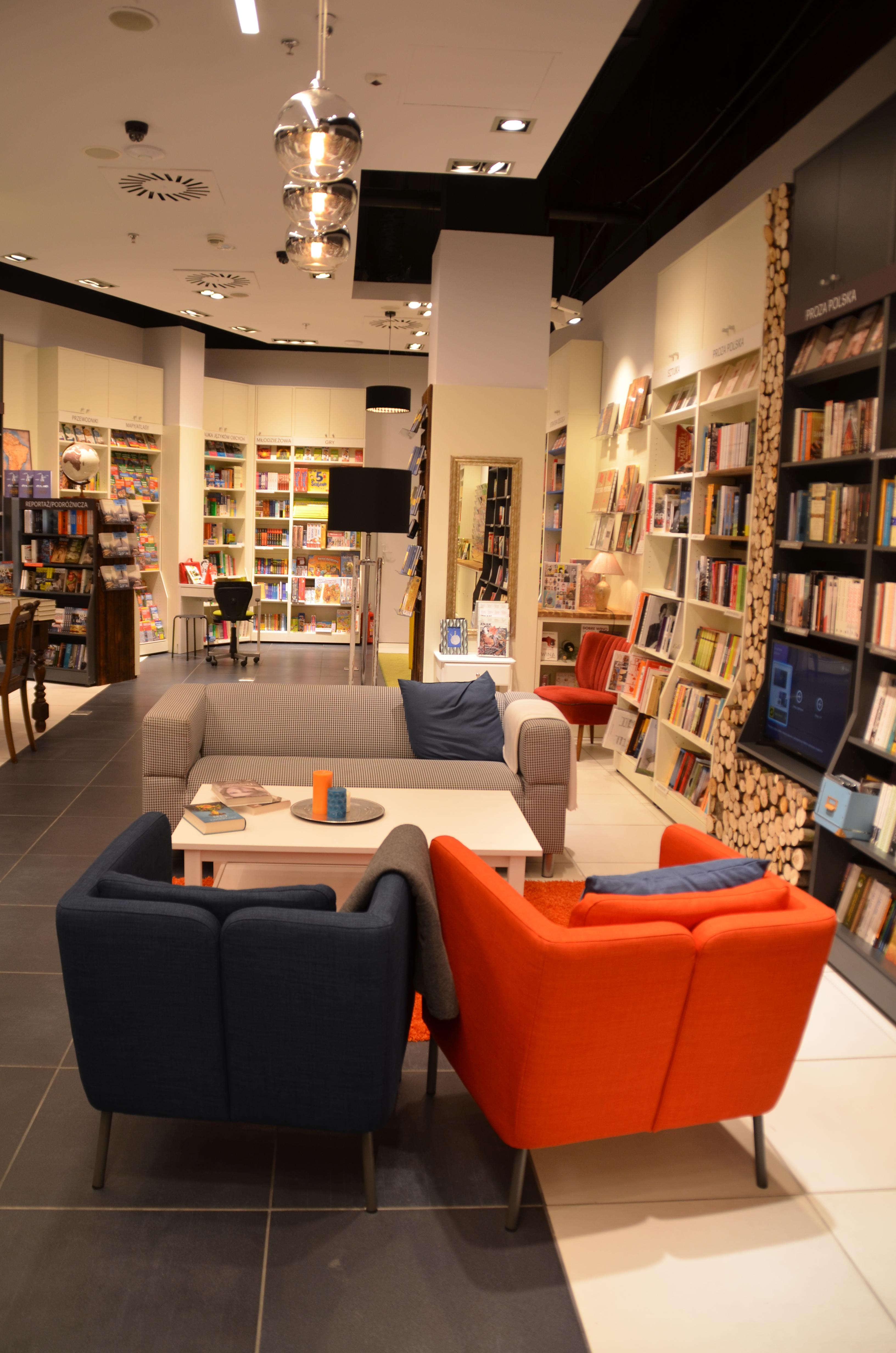 W księgarni jak w domu