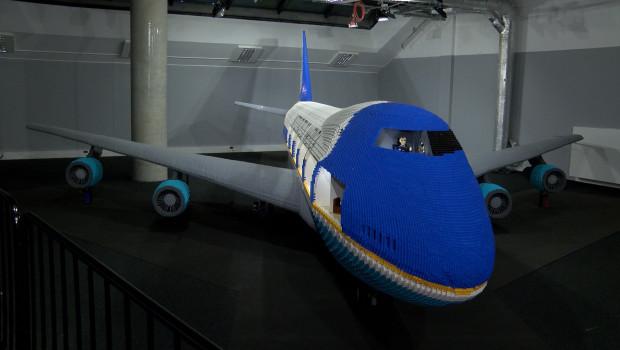 Air Force One z klocków LEGO