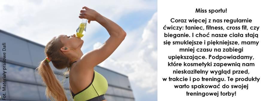 Miss sportu – nieskazitelny wygląd przed, w trakcie i po treningu!