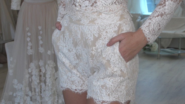 A na wesele koronkowe szorty?