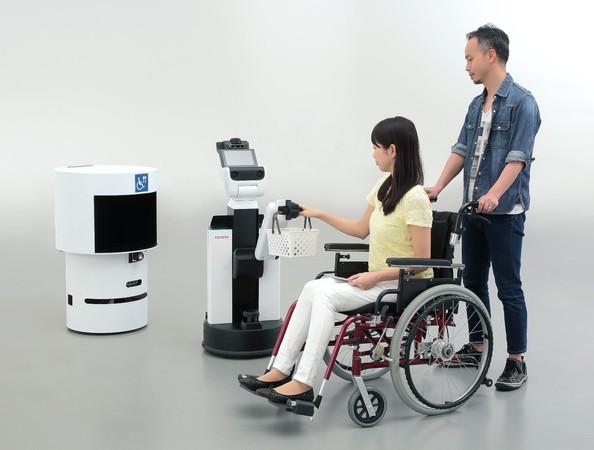 Roboty na Igrzyskach w Tokio