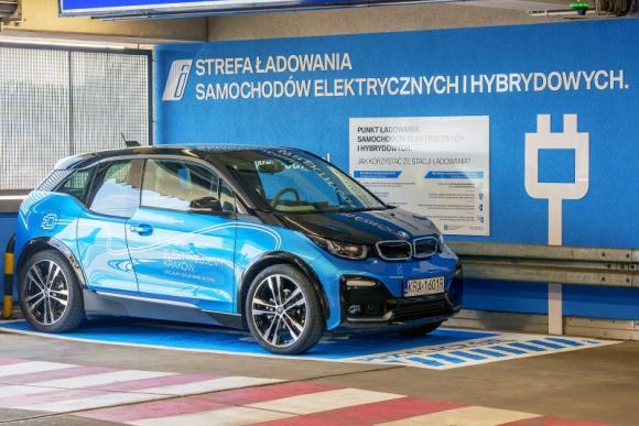 Elektromobilność w Galerii Krakowskiej