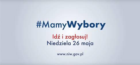 Ja mam wybór, Ty masz wybór, wszyscy #MamyWybory!