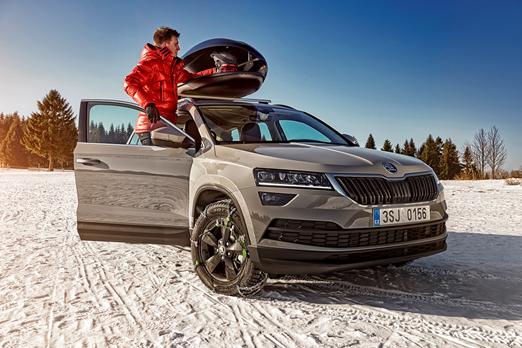 ŠKODA –  maksymalny komfort jazdy w niższych temperaturach