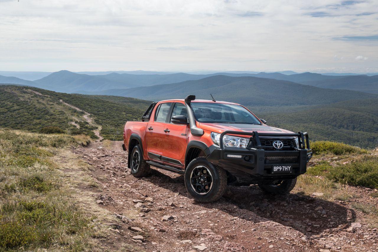 Toyota Hilux króluje w Australii