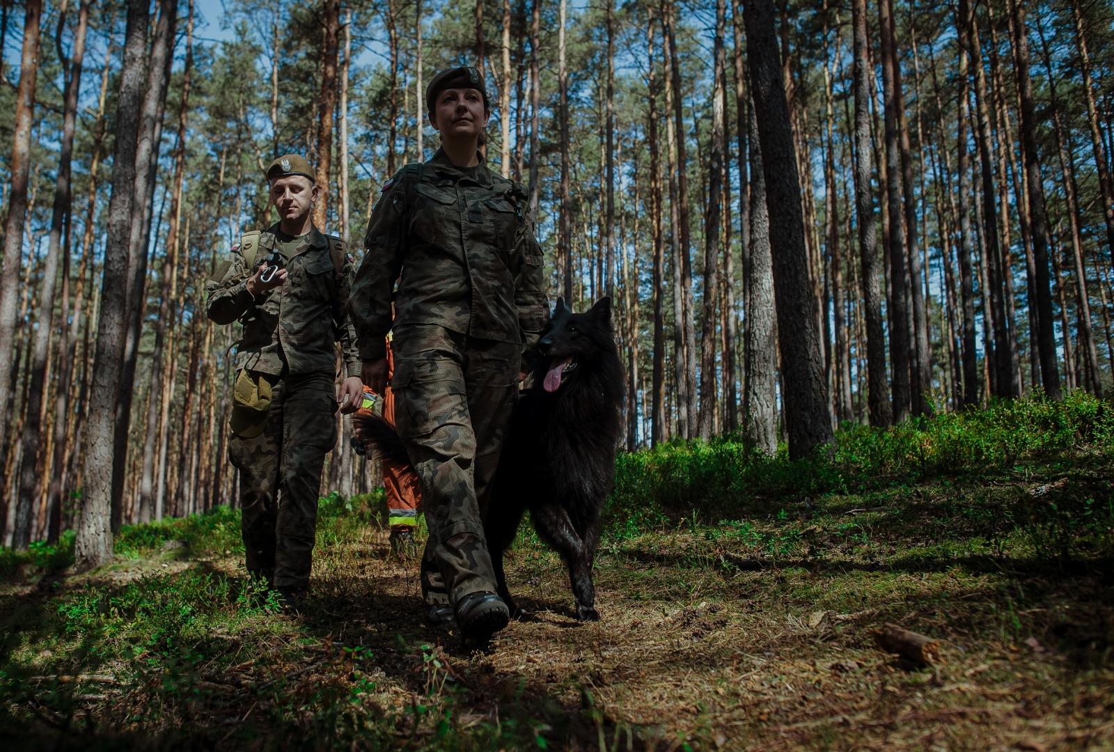 Pierwszy pies ratowniczy w Wojsku Polskim
