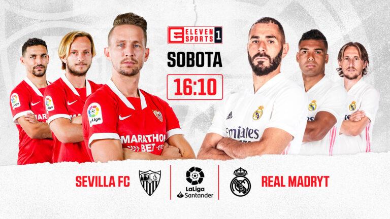 Starcie Sevilli FC z Realem Madryt