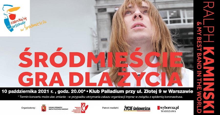 """Bilety na koncert za krew – rusza 13. edycja akcji """"Śródmieście gra dla życia"""""""