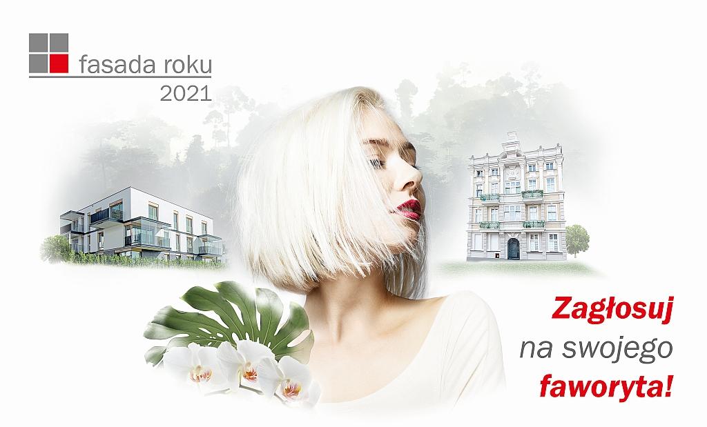 Internauci wybierają Fasadę Roku 2021