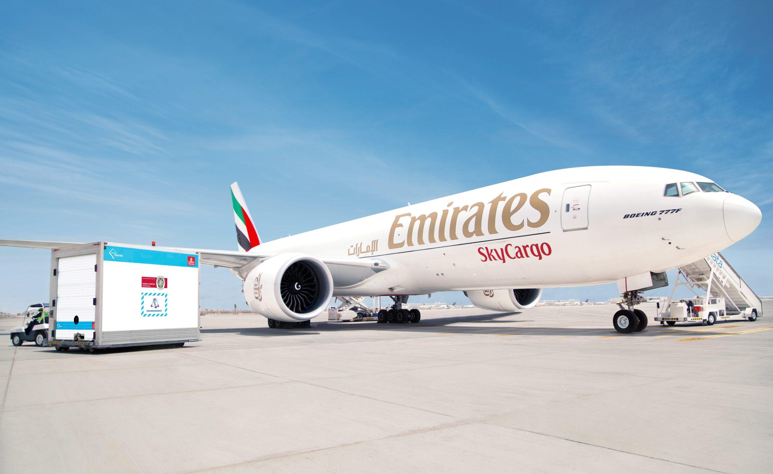 Kamień milowy Emirates SkyCargo w transporcie szczepionek przeciwko COVID-19