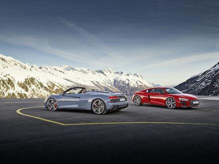 Czysta radość z jazdy w połączeniu z doskonałymi osiągami: Audi R8 V10 performance RWD